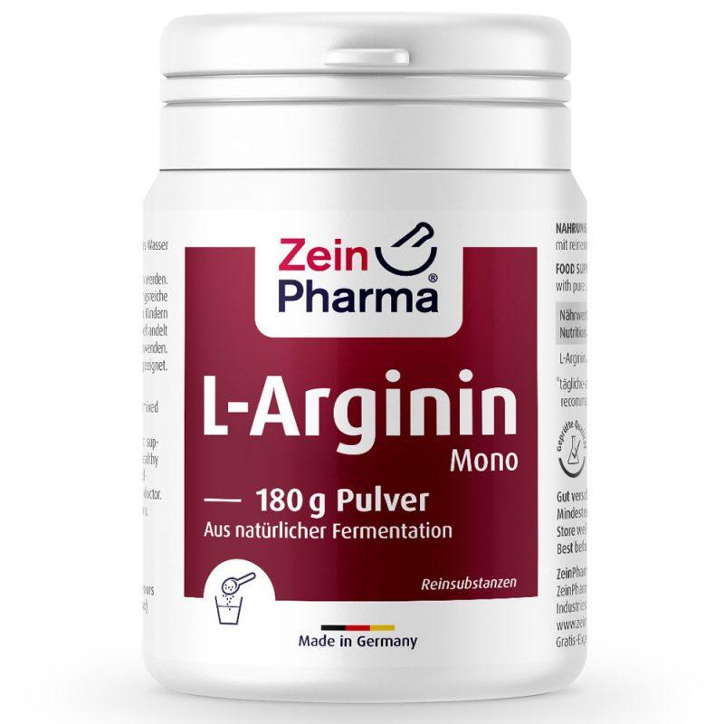 ZeinPharma L-АРГИНИН - ПРАХ - Аминокиселини за сърдечно - съдова система, кръвно налгане и артерии от Pharma.