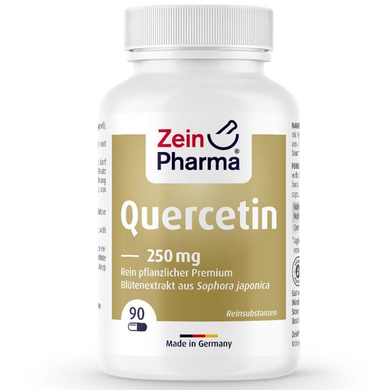 ZeinPharma КВЕРЦЕТИН - за сърдечно-съдовата система, кръвното налягане и артерии, както и против възпаления и болки от Pharma.