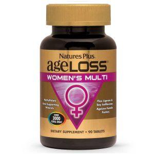 AgeLoss Women's Multi – МУЛТИВИТАМИНИ за Жените в зряла възраст за Сила, Енергия, Силен Имунитет от Natures
