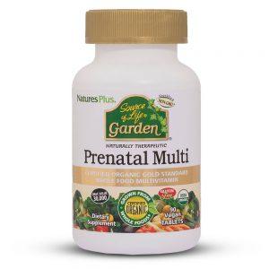 PRENATAL Garden – Органични Мултивитамини за бременни и кърмещи от Natures.
