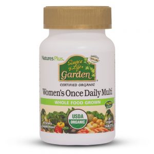WOMEN's DAILY Garden – Органични Мултивитамини за жени от Natures.