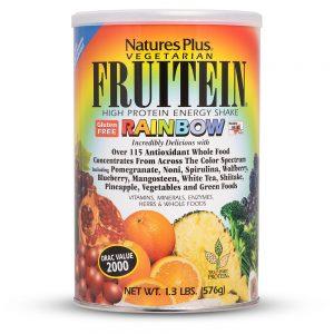 FRUITEIN Rainbow Протеинов шейк (микс от плодове) от Natures