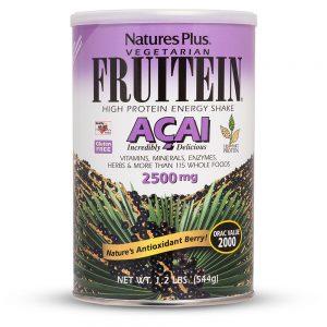 FRUITEIN Açaí Протеинов шейк (плод от Акай) от Natures