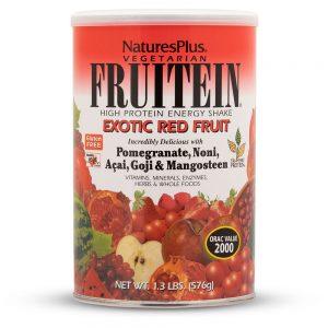 FRUITEIN Red Fruit Протеинов шейк (Червени плодове) от Natures