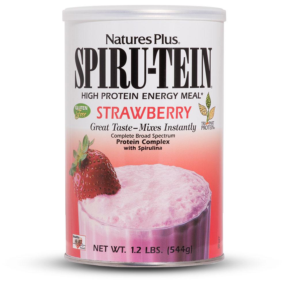 SPIRU-TEIN Вегетариански протеинов шейк (Ягода)