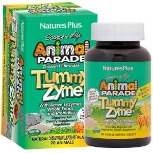 Animal Parade TUMMY ZYME – Храносмилателни ензими с пробиотик за деца - ЕНЗИМИ, ХРАНОСМИЛАНЕ И СТОМАХ от Natures.
