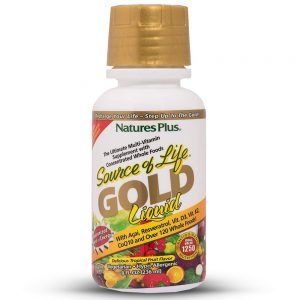Source of Life GOLD – Течни Мултивитамини, ИМУНОСТИМУЛАТОРИ за СИЛА И ЕНЕРГИЯ от Natures.