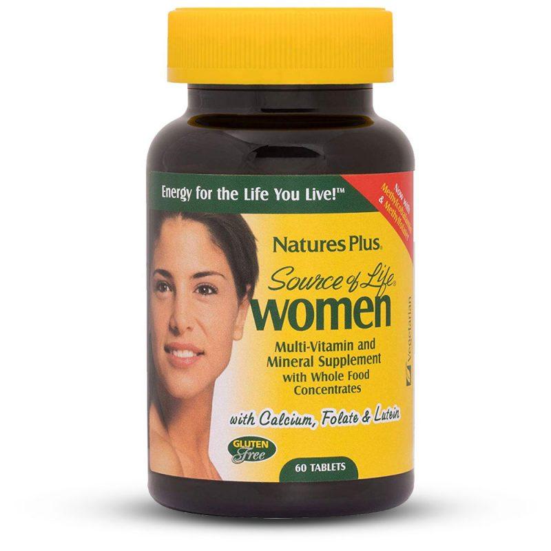 Source of Life WOMEN – Мултивитамини за Жени - Имуностимулатори за Сила и Енергия от Natures