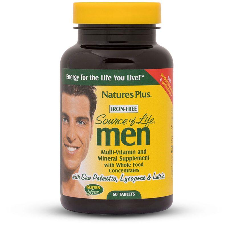 Source of Life MEN – Мултивитамини за Мъже - Имуностимулатори за Сила и Енергия от Natures