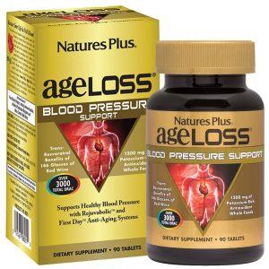 AgeLoss Blood Pressure Support за КРЪВНОТО НАЛЯГАНЕ и Прочистване на Кръвта от Natures
