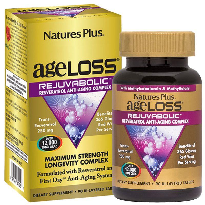 AgeLoss REJUVABOLIC – Антиоксидантен микс за Подмладяване от Natures