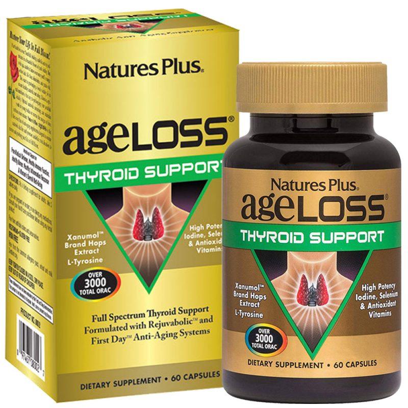 AgeLoss Thyroid Support за ЩИТОВИДНАТА ЖЛЕЗА от Natures