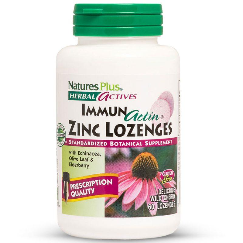 Herbal Actives ИМУНО-АКТИН с Цинк за Силен Имунитет от Natures