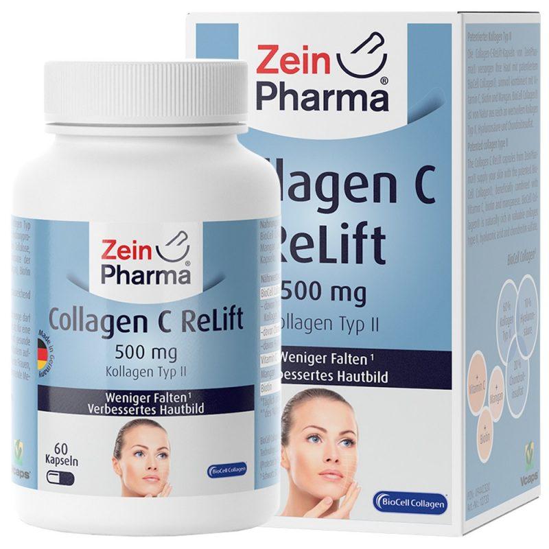 ZeinPharma COLLAGEN C-ReLift – BioCell КОЛАГЕНГрижа за ставите и Коса-кожа-нокт от Pharmaи