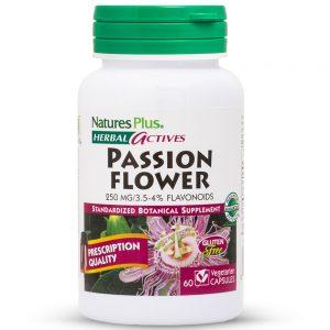 Herbal Actives ПАСИФЛОРА (Страстниче) 250mg Успокоително и срещу Анти-стрес от Natures