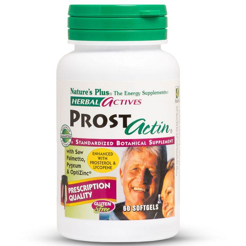 Herbal Actives ПРОСТ-АКТИН със Сао Палмето за Здрава простата от Natures