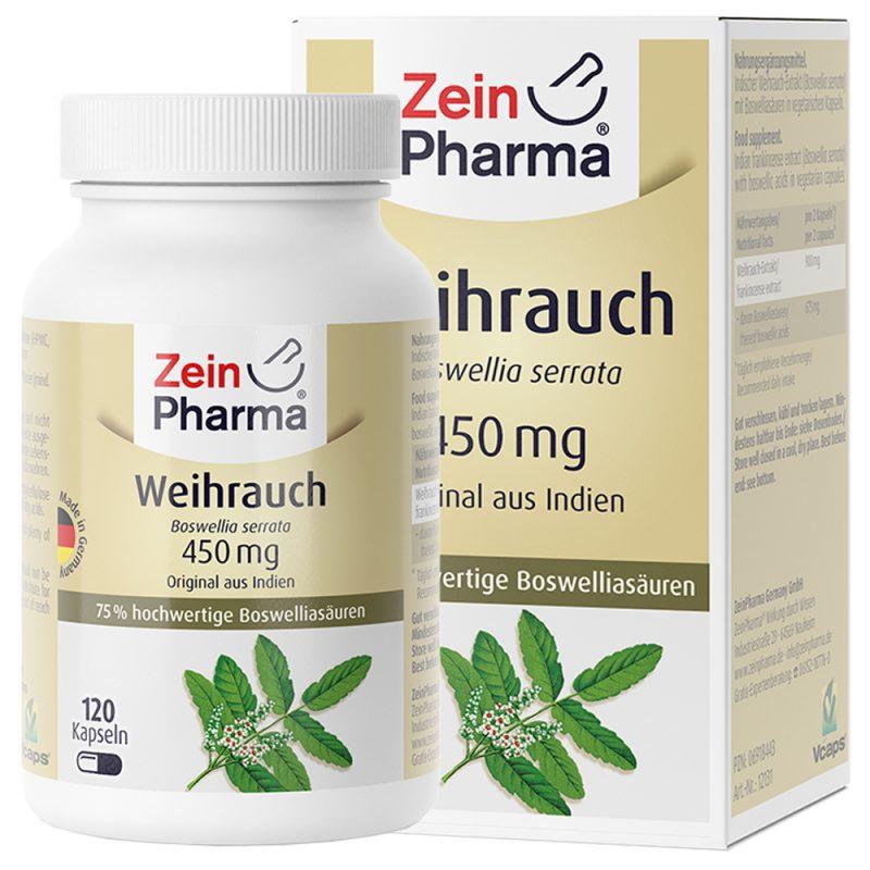 ZeinPharma БОСВЕЛИЯ – 450mg за Ставите и Против възпаления и болки от Pharma