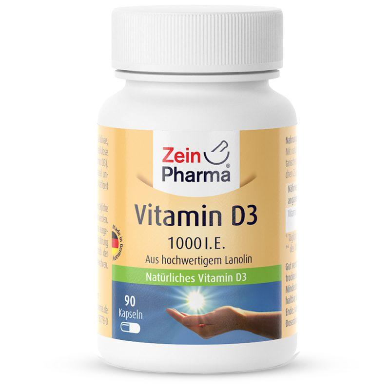ZeinPharma Витамин D 1000 IU – 25μg - имуностимулатор от Pharma