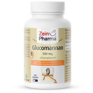 ZeinPharma ГЛЮКОМАНАН – 500mg за Отслабване и детокс от Pharma
