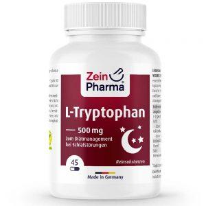 ZeinPharma L-ТРИПТОФАН – Аминокиселини за Спокоен и здрав сън, Нервна система от Pharma