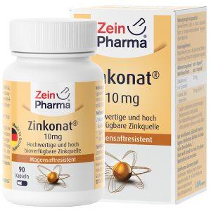 ZeinPharma ЦИНК – 10mg - имуностимулатори за Коса-кожа-нокти от Pharma