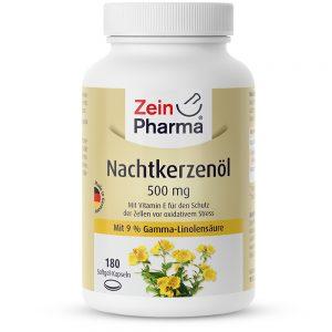 ZeinPharma ВЕЧЕРНА ИГЛИКА (Масло) 500mg с Рибено масло и Омега за Коса-кожа-нокти и Хормонален баланс от Pharma