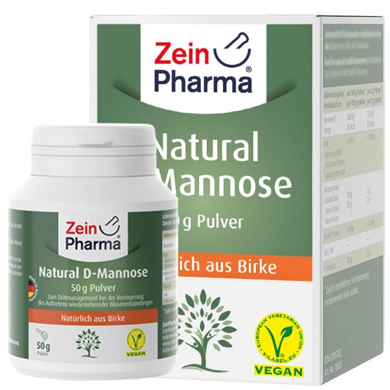 ZeinPharma D-МАНОЗА (50гр) за Пикочно-половата система от Pharma