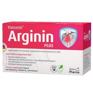 ZeinPharma VASCORIN ARGININ PLUS за кръвоносните съдове, Сърдечно-съдовата система, Кръвното налягане и артериите от Pharma.