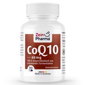ZeinPharma КОЕНЗИМ Q10 – 60mg за Коса-кожа-нокти и Сърдечно-съдовата система от Pharma