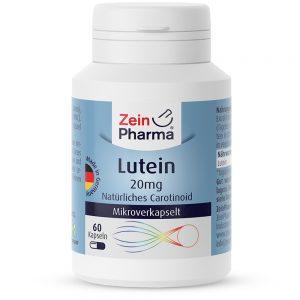 ZeinPharma ЛУТЕИН – 20mg за Очи и добро зрение от Pharma