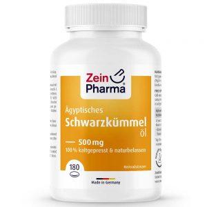 ZeinPharma ЧЕРЕН КИМИОН (Масло) 500mg Рибено масло и Омега за Коса-кожа-нокти и Сърдечно-съдовата система от Pharma