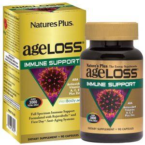 AgeLoss Immune Support за ИМУННАТА СИСТЕМА от Natures