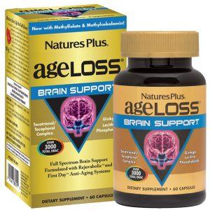 AgeLoss Brain Support за МОЗЪКА и паметта от Natures