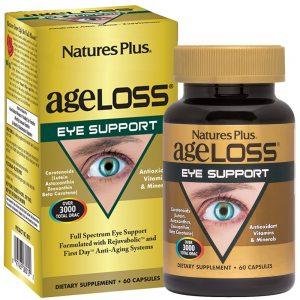 AgeLoss Eye Support за ОЧИТЕ и добро зрение от Natures