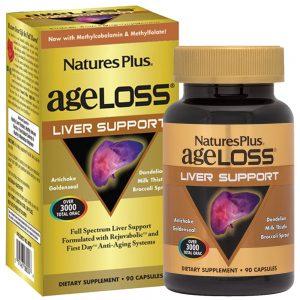 AgeLoss Liver Support за ЧЕРНИЯ ДРОБ и жлъчката от Natures