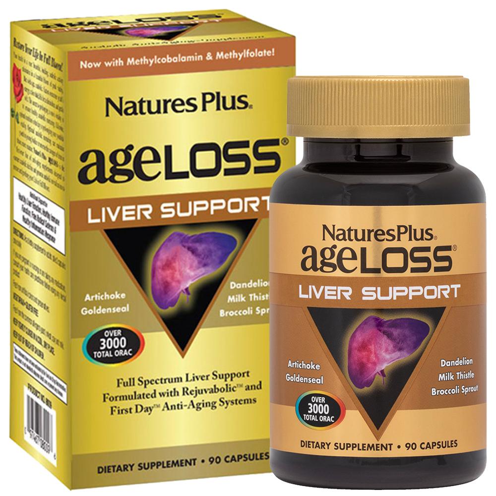 AgeLoss LIVER SUPPORT за Черния дроб (90 капс)