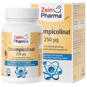 ZeinPharma ХРОМ ПИКОЛИНАТ - Витамини и минерали за отслабване и детокс от Pharma.