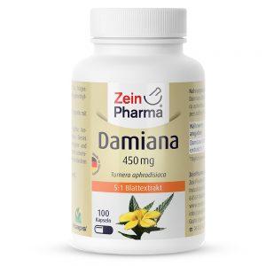 ZeinPharma ДАМИАНА - За хормонален баланс, Нервна система, Сила и Енергия, както и Менопауза и ПМС от Pharma.