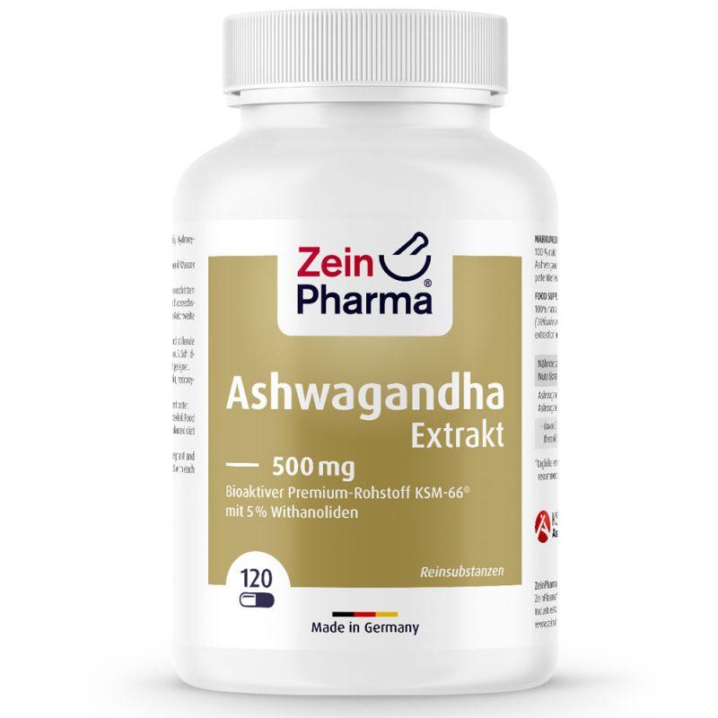 Ашваганда - за умствен тонус и памет също против възпаления и болки от Pharma