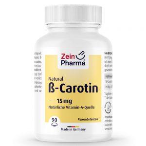 ZeinPharma БЕТА КАРОТИН - Витамини и минерали за очи и добро зрение от Pharma.
