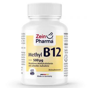 ZeinPharma Витамин Б-12 (Метилкобаламин) - Витамини и минерали за сила и енергия от Pharma.