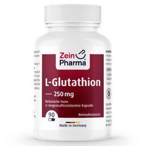 ZeinPharma® L-Глутатион - Против възпаления и болки за черния дроб, жлъчката, нервната система и антистрес ефект от Pharma.