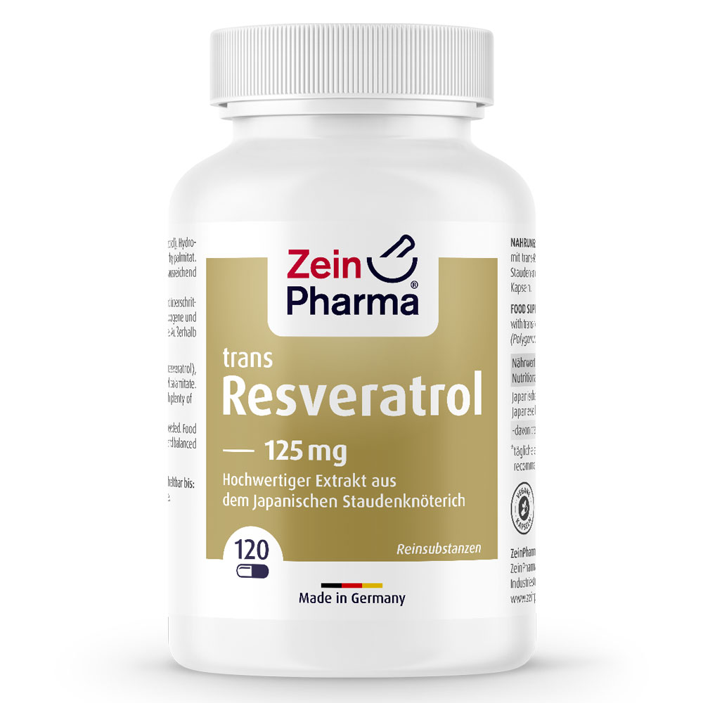 РЕСВЕРАТРОЛ / RESVERATROL - ZeinPharma (120 капс)