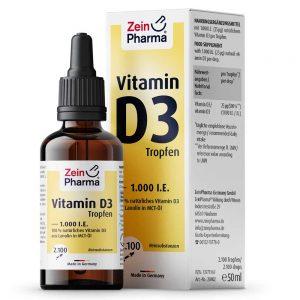 ZeinPharma Витамин D на Капки - имуностимулатор от Pharma