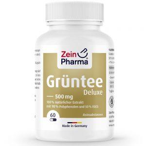 ZeinPharma ЗЕЛЕН ЧАЙ Делукс – 500mg за Отслабване и детокс от Pharma
