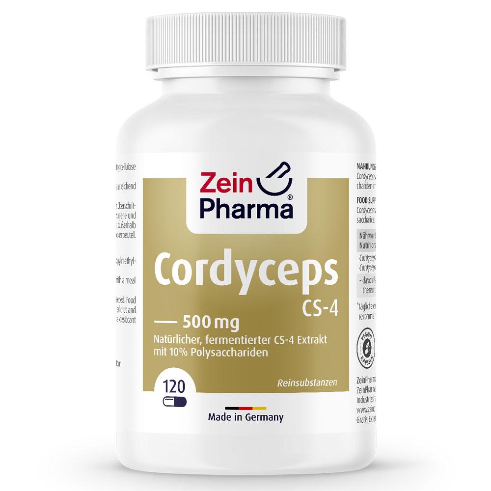 КОРДИЦЕПС / CORDYCEPS CS-4 - ZeinPharma (120 капс)