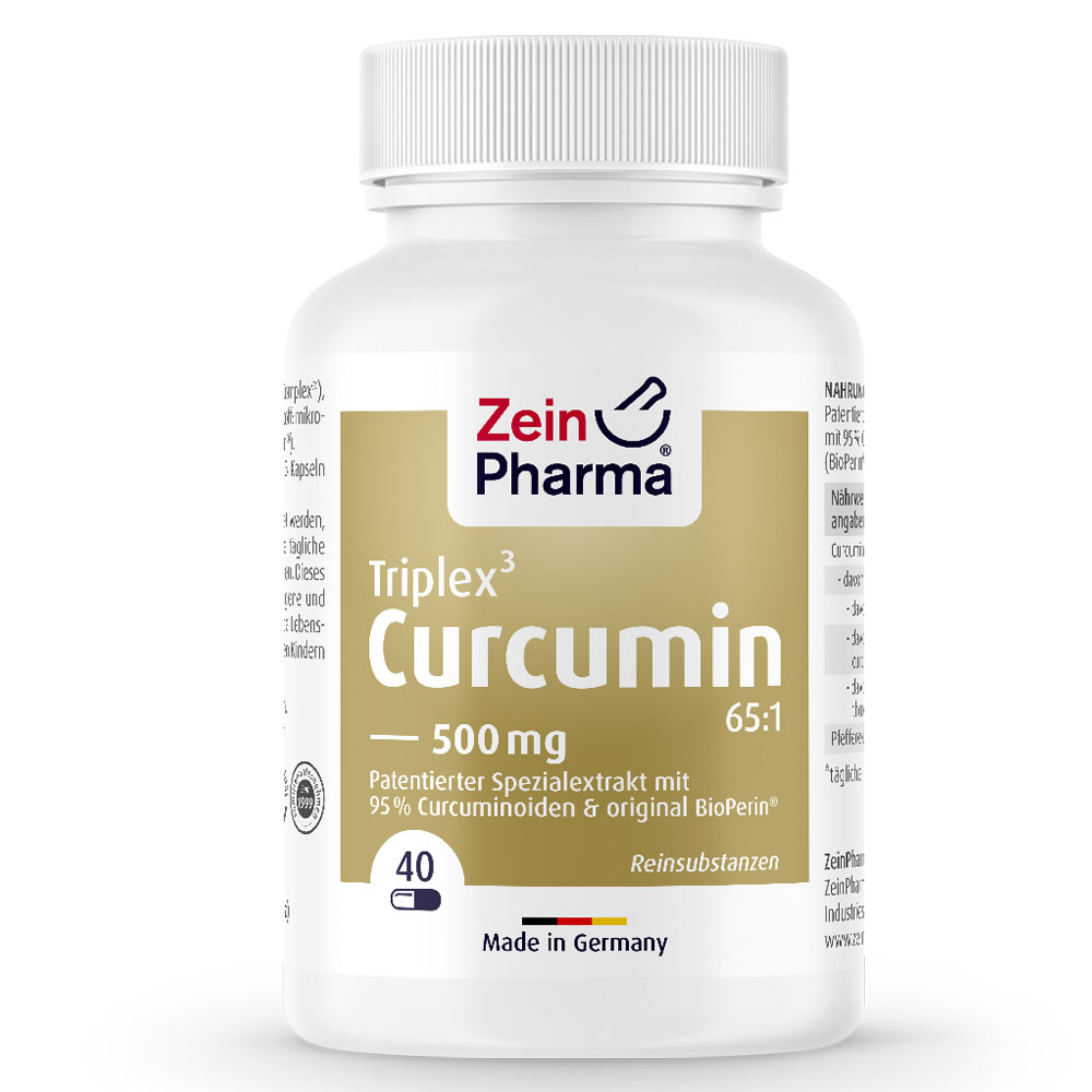 КУРКУМА / CURCUMIN Triplex³ - ZeinPharma (40 капс)