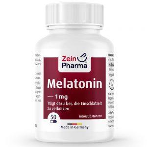ZeinPharma МЕЛАТОНИН – 1mg за Спокоен и здрав сън от Pharma