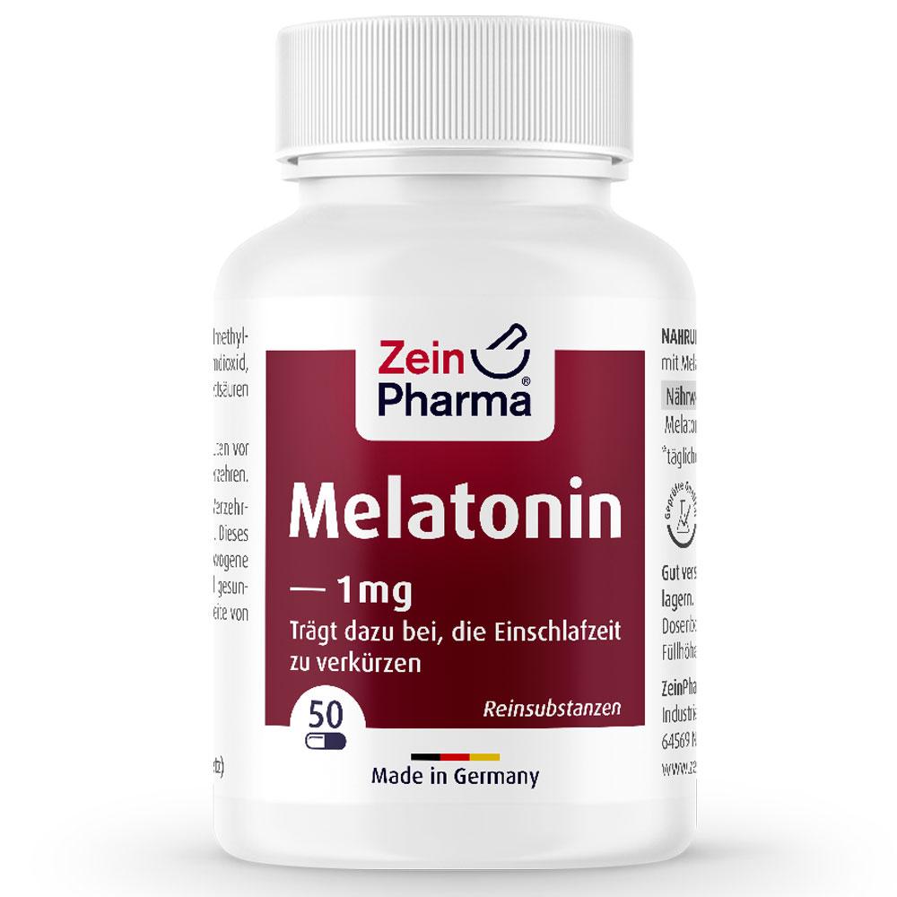 МЕЛАТОНИН / MELATONIN - ZeinPharma (50 капс)