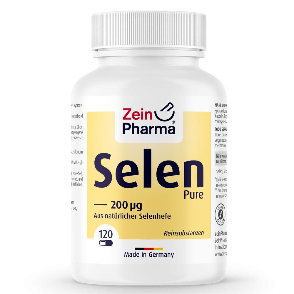 СЕЛЕН / SELEN Pure – ZeinPharma (120 капс)